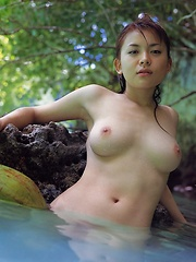 Japanese Girls posing solo
